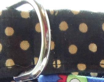 Polka Dots Cotton Greyhound, Whippet, Galgo, Pit Bull, Dog, Sighthound Martingale Collar
