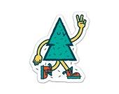 Tree Friend Vinyl Sticker