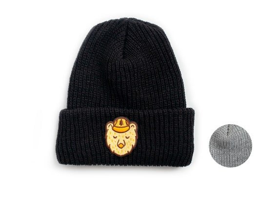 4afddb81af2 Knit Beanie with Ranger Bear Patch
