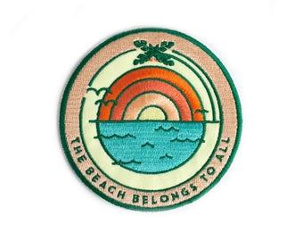 Beach Sunrise Sticky Patch