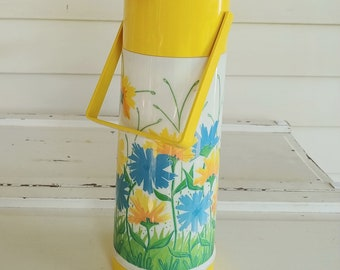 Vintage Aladdin Drink Dispenser | Insulated Picnic Thermos