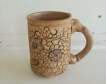 Vintage Pottery Mug