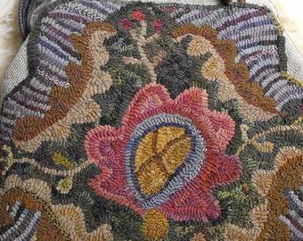 Magic Carpet Bag rug hooking PATTERN ONLY