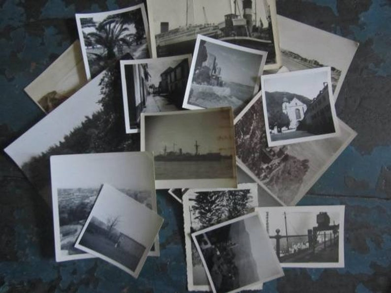 Crafting Assorted Bundle Vintage Photographs x 16- Early 1900/'s to 1960/'s Black /& WhiteSepia Places To See JJ/'s Mixed Media