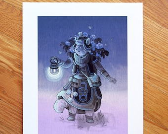 Flower Guardian - Fine Art Print by Nicole Gustafsson