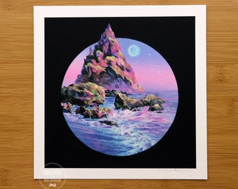 Moonlit Shores - Limited Edition Print by Nicole Gustafsson