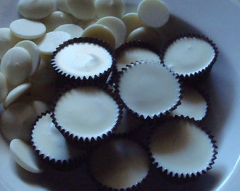15 White Chocolate Peanut Butter Cups