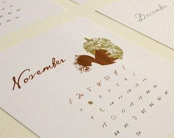 2021 Lunar Calendar Printable,  NORTHERN Hemisphere