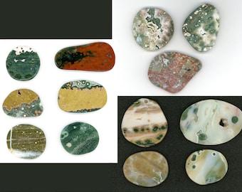 Ocean Jasper Cabochons & Pendant Natural Stone Choose 42mm - 75mm