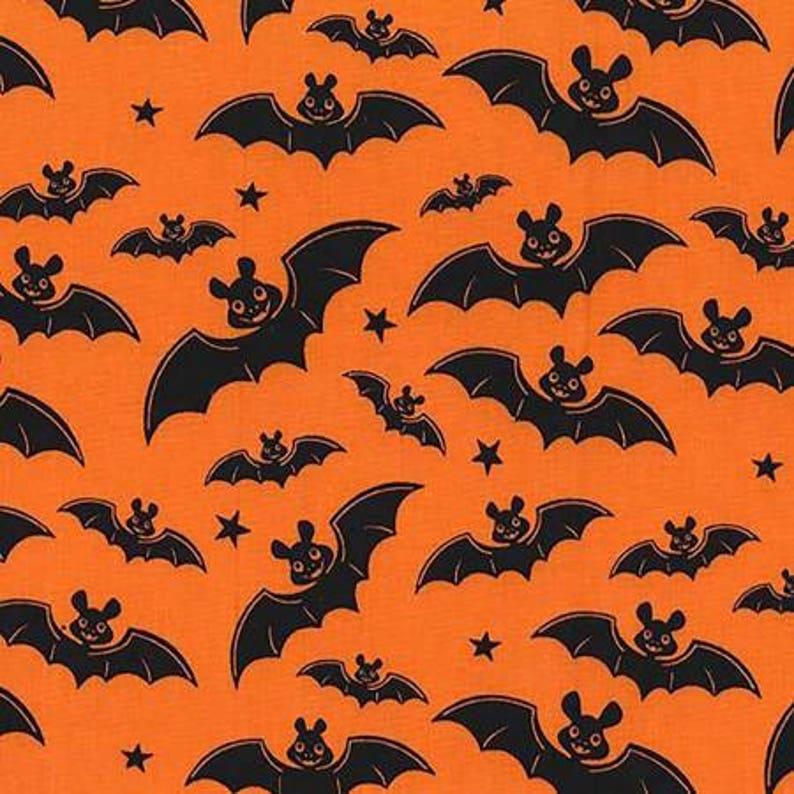 Orange a Little Batty Nightmare in Gnomeville  Michael Miller image 0