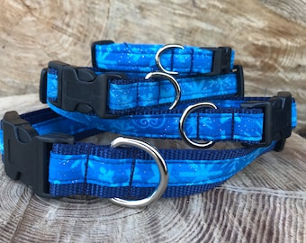 Snowflake, winter, ice festival,  holiday Pet Collar Collection Collars, Leashes, Key Fobs, Friendship Bracelets and More!