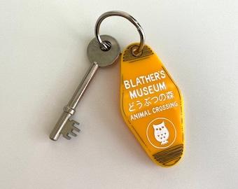 Blather's Museum - Animal Crossing - Keychain - Laser Cut Acrylic