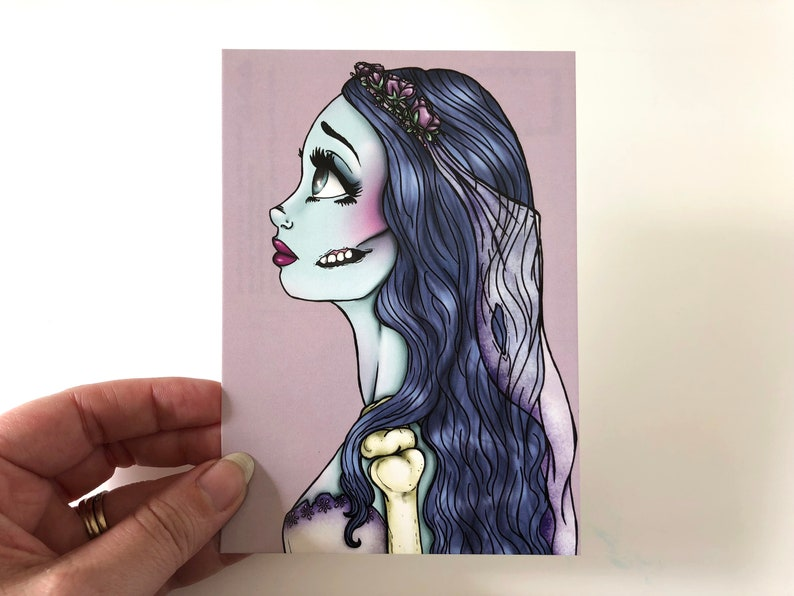 Emily  The Corpse Bride  Postcard image 0