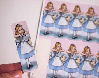 Sheet of Stickers - Alice in a Bottle - Alice in Wonderland