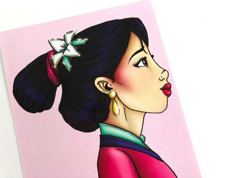 Mulan  Postcard image 1