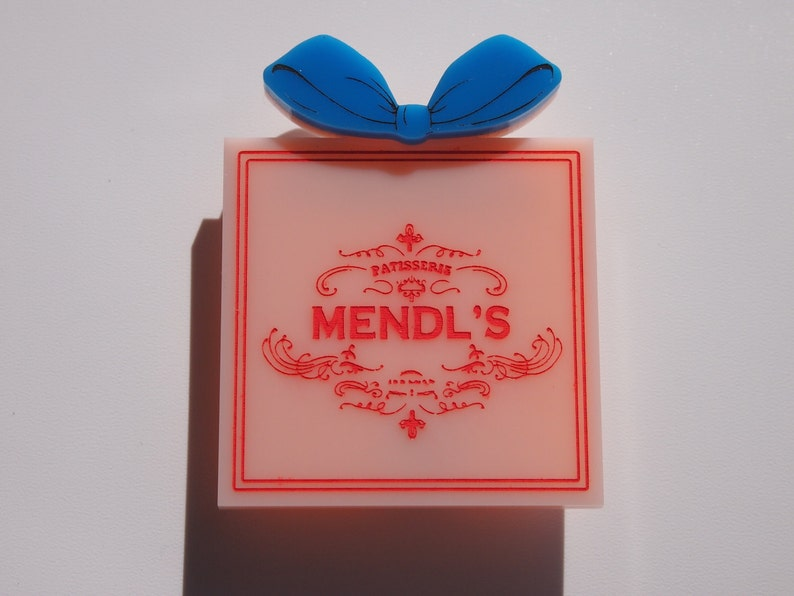 Mendl's Box Brooch  The Grand Budapest Hotel  Wes image 0
