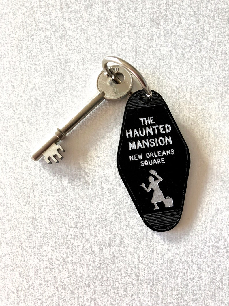 The Haunted Mansion  New Orleans Square  Key Ring  Keychain image 0