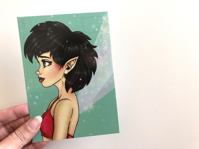 Crysta  Ferngully  Postcard image 0