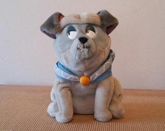 Vintage Disney Pocahontas Percy the Pug Plush - Item #41824 From Applause - Pug Collectible