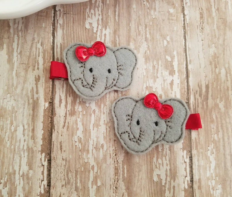 Girls' Accessories Shop For Cheap Set Of 2 Heart Clippie Hair Clips *new* Reputation First