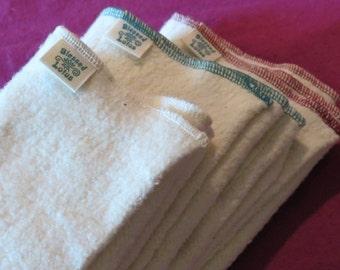 Cloth Diaper- Organic Cotton/Hemp Fleece, size MEDIUM