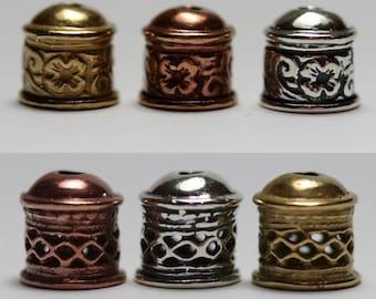 12-Viking Knit End Cap Floral and Diamond Assortment-3 metals