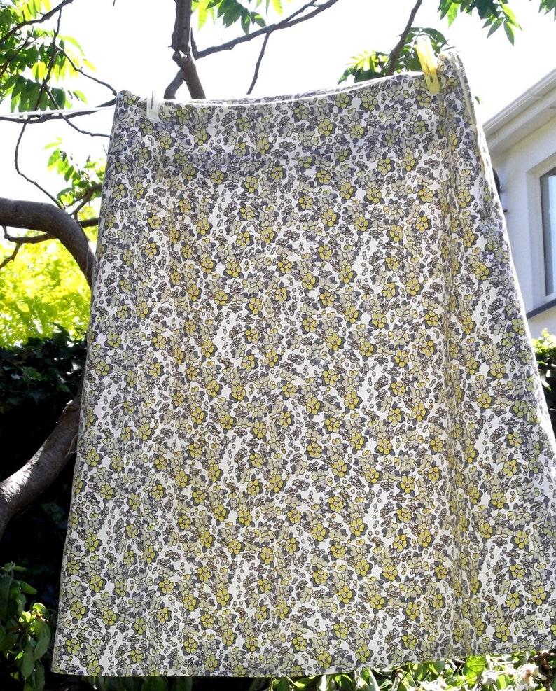 A Line Skirt Multi size UK 8  20. nested PDF Sewing Pattern  image 1