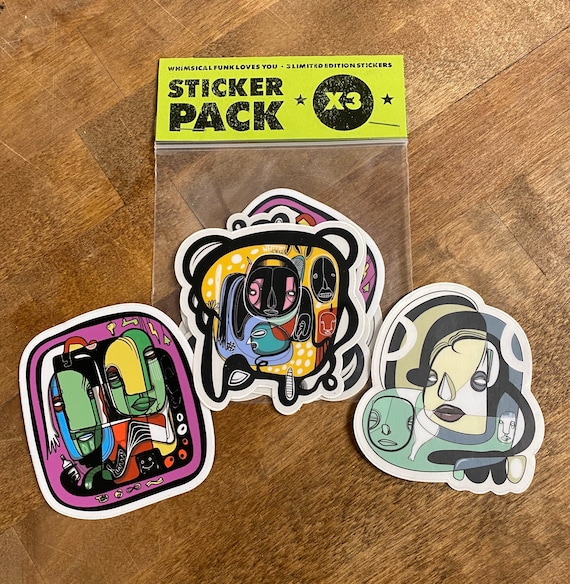 Magic Sticker Pack - Limited Edition