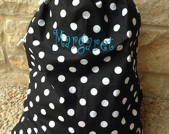 """Laundry Bag(s) - Embroidered Personalization (27""""x 36"""")"""