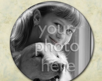 Custom Pocket Mirror - Your Photo on a Mirror... Personalized Photograph