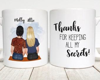 Best Friend Gift ,Best Friend Mug, To My Bestie Mug, Custom Girls Mug, Best Friend Mug, Bff, Personalized Friend Gift,  Long Distance Mugs