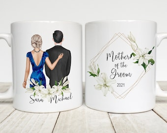 Mother of the Groom Gift, Personalized Mug, Wedding Party, Mother in law gift, Mother of the Groom Coffee Mug