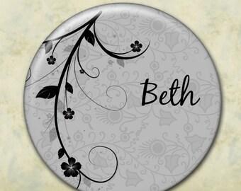 Pocket Mirror, Bridesmaid Gift, Customized, Shower Favor, Wedding Favor