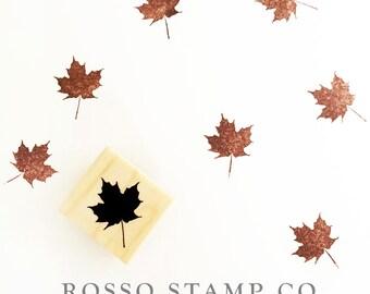 Maple Leaf Stamp - Autumn Leaf Stamp - Fall Stamps