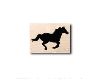 Horse Stamp - Galloping Horse Stamp