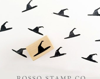 Wicked Witch Hat Stamp - Halloween Stamp - Witch Stamp