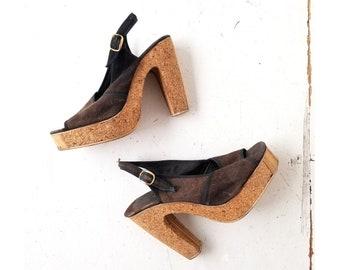 92dc1446d211 1970s Platform Shoes