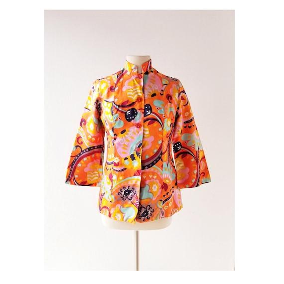 Vintage 1960s Jacket | Sgt. Pepper | Nehru Jacket
