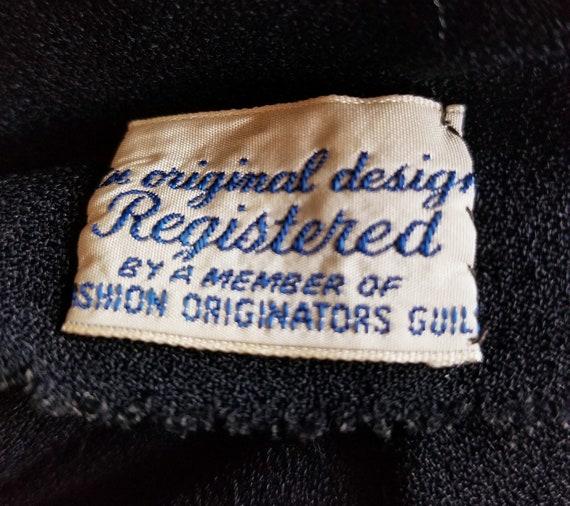 Vintage 30s Gown | a la Schiaparelli | 30s Dress … - image 9