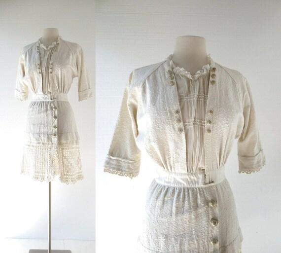 Vintage Edwardian Top | Neverland | 1910s Dress |