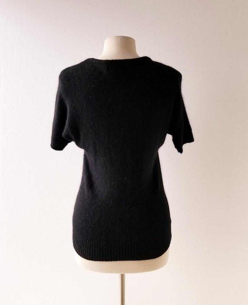Night Flowers Small S 80s Sequin Top Sequin Sweater