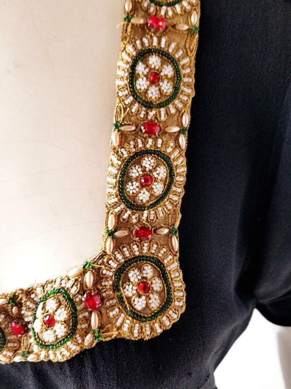 Vintage 30s Gown | a la Schiaparelli | 30s Dress … - image 5