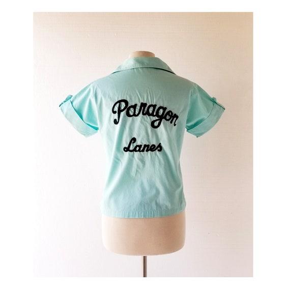 50s Bowling Shirt | Paragon Lanes | Hilton Bowling