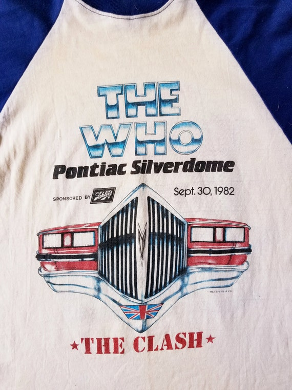 The Who and The Clash Shirt | 1982 Pontiac Silver… - image 6