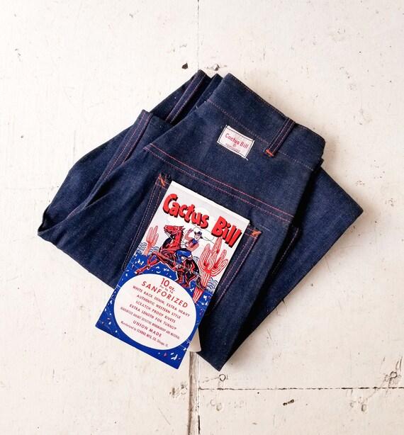 Vintage 1950s Jeans | 50s Denim | 1950s Deadstock