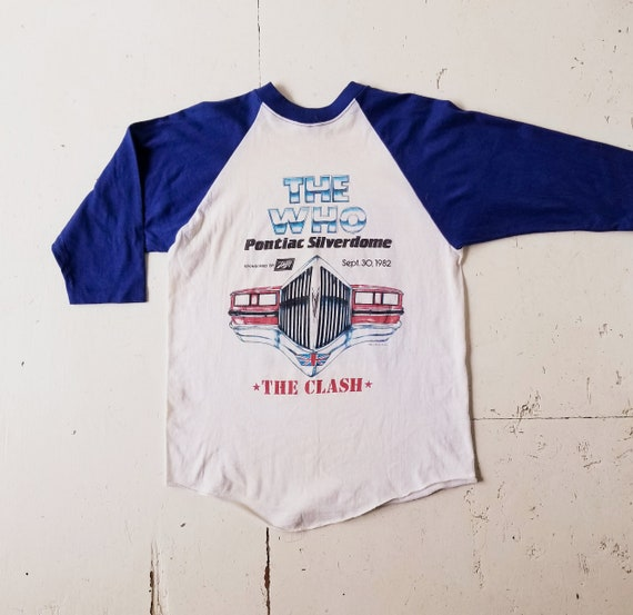 The Who and The Clash Shirt | 1982 Pontiac Silver… - image 2