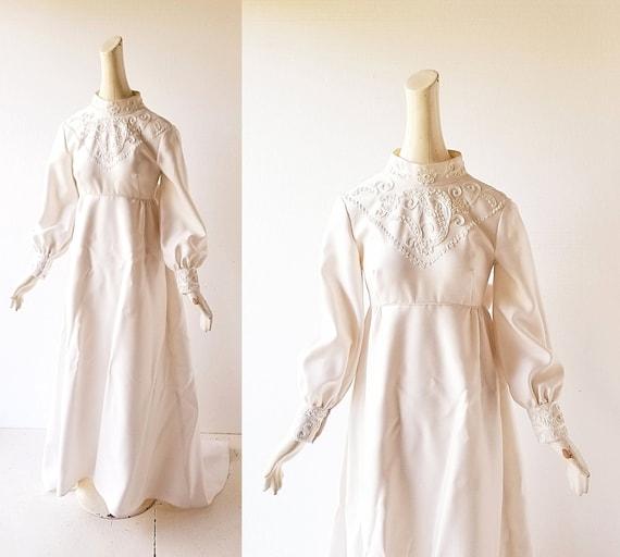 60s Wedding Dress | Emma Domb Dress | Wedding Gown
