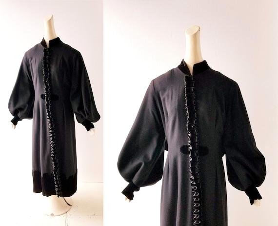 Vintage Edwardian Coat | Amour Dure | 1900s Coat |