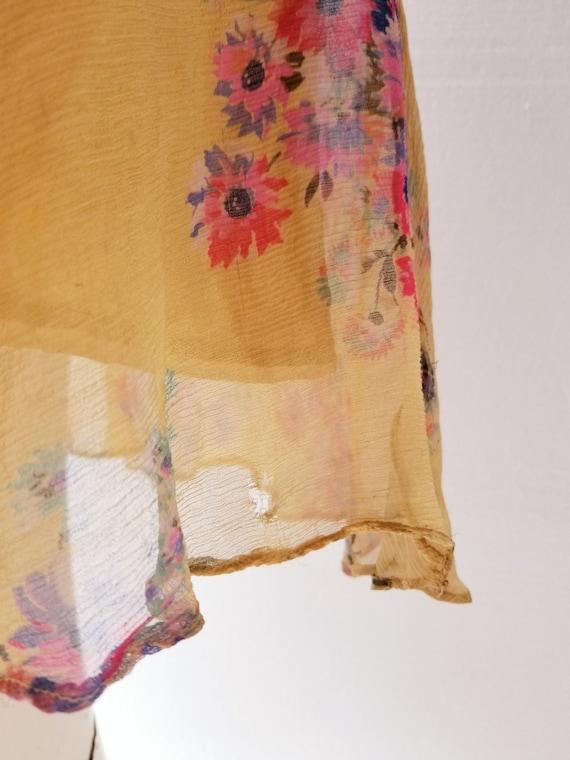 Vintage 1920s Dress | 1920s Floral Dress | 20s Dr… - image 8
