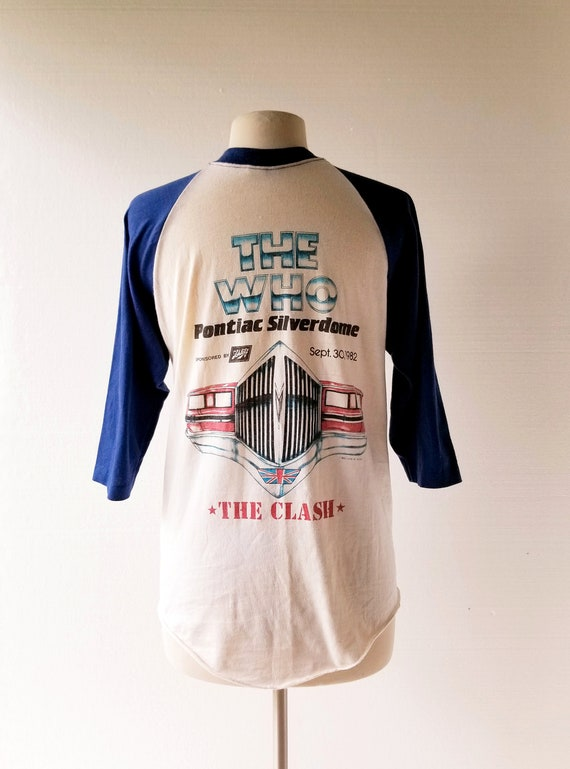 The Who and The Clash Shirt | 1982 Pontiac Silver… - image 4